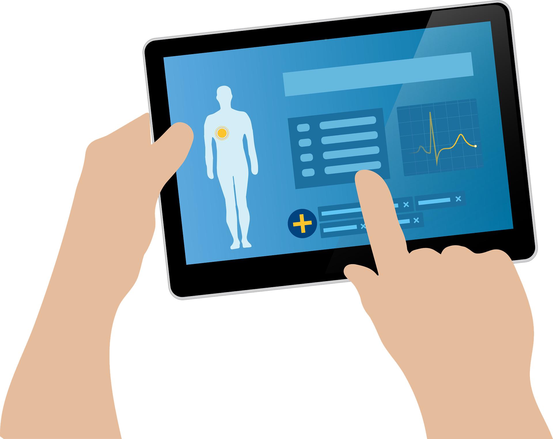 健康診断の結果のイラスト