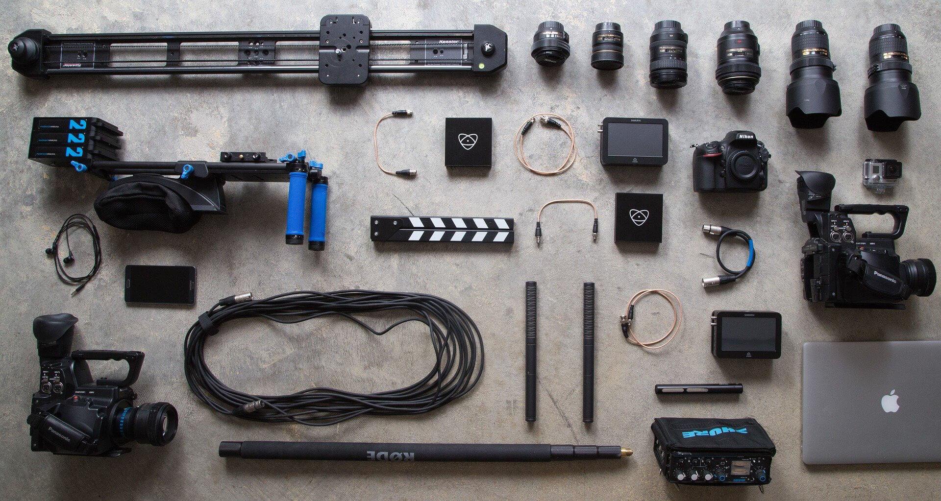 カメラの機材