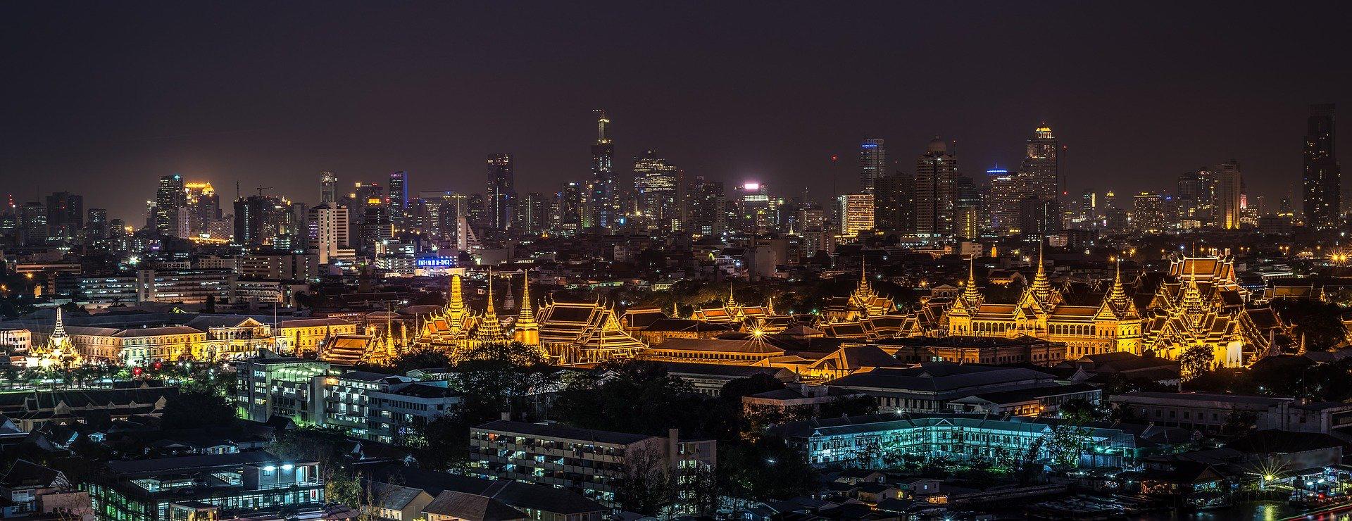 アジアの夜景