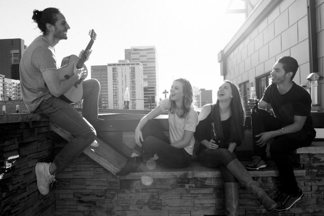 みんなで歌う